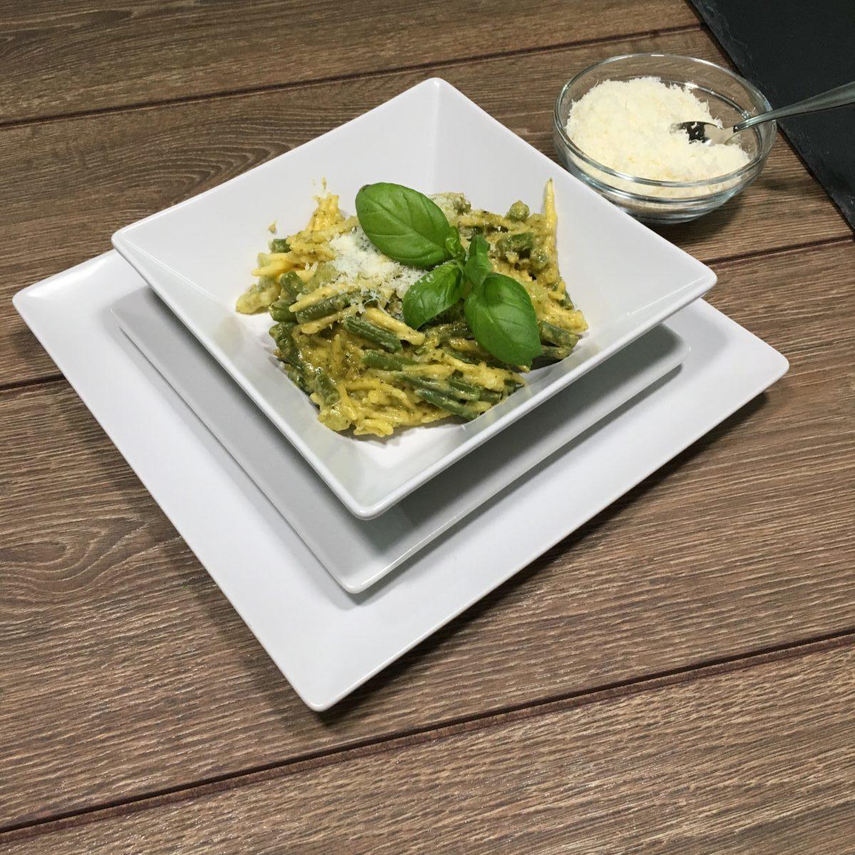 Trofie senza glutine col Pesto alla Genovese