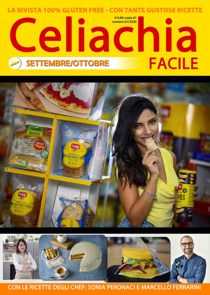 Celiachia Facile - copertina del numero settembre/ottobre 2020